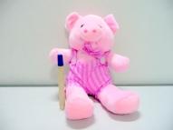 gambar boneka sapi pink